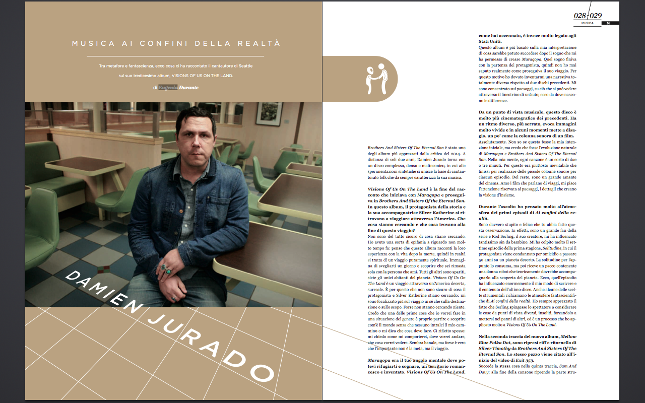 Damien Jurado article