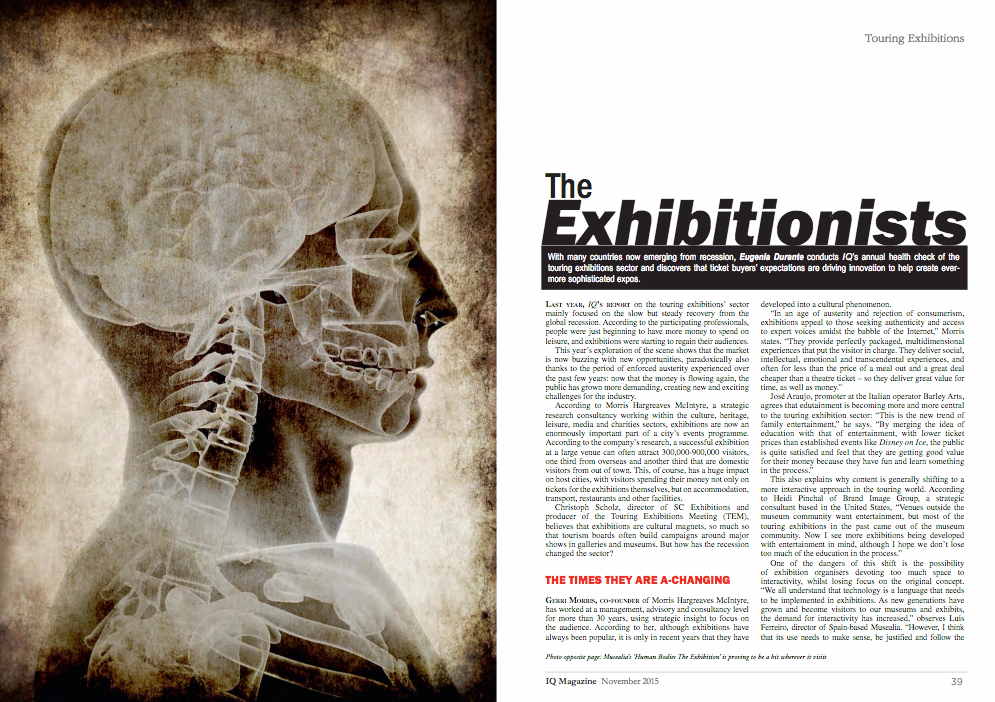The Exhibitionist articles