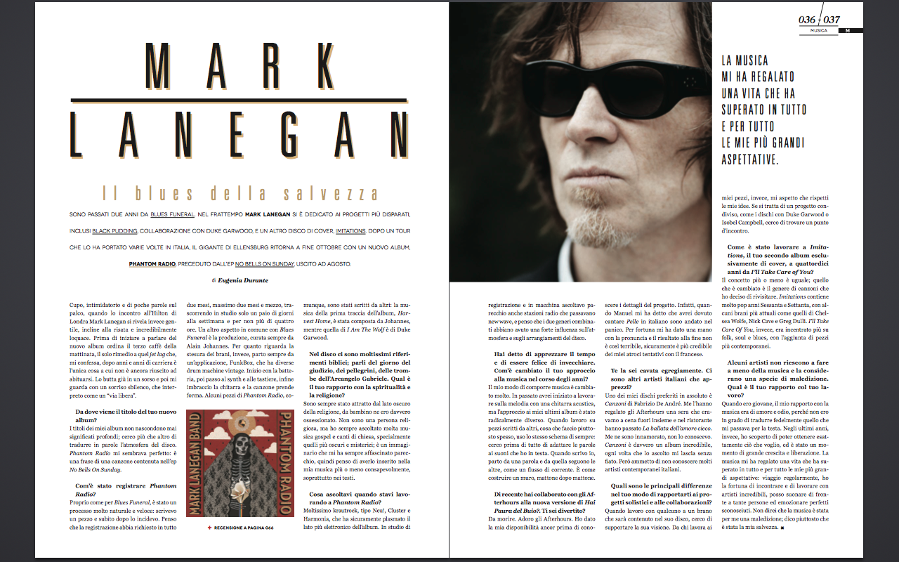 Interview with Mark Lanegan