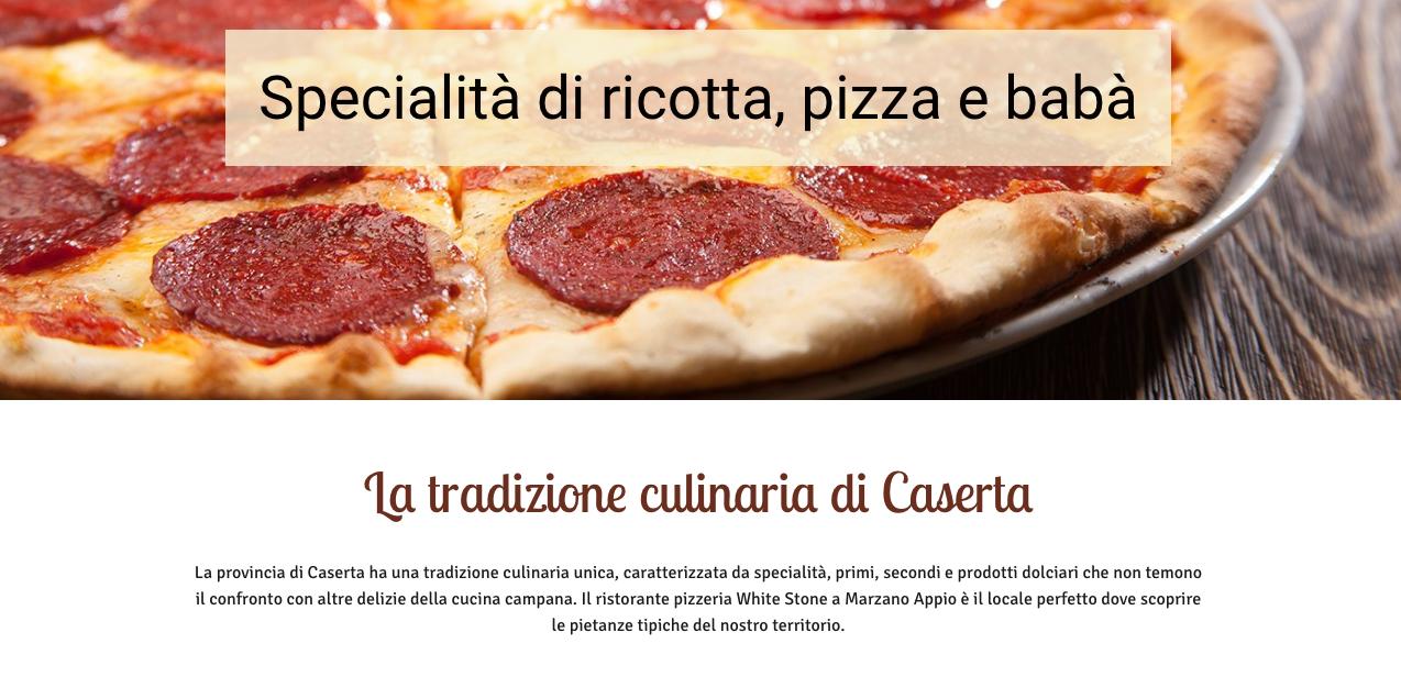 Pizzeria in Caserta